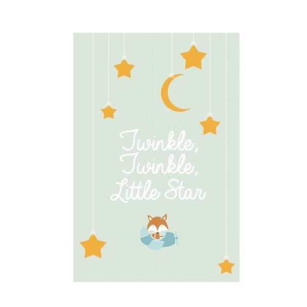 A6 Kaart Twinkle Twinkle Little Star